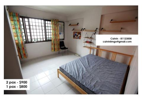 2 COMMON ROOM AVAILABLE AT TAMPINES