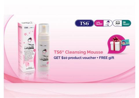 TS6 Cleansing Mousse Feminine Intimate Wash