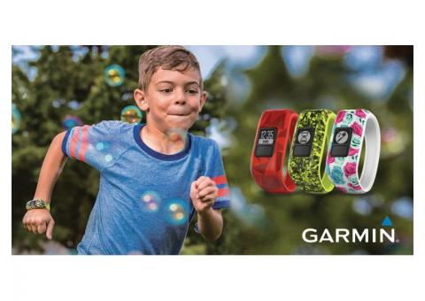 Garmin vivofit jr. Kids Activity Tracker Promotion