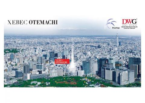 Xebec Otemachi, Symbol of Modern Capital City Living In The Most Prime CBD of Tokyo!