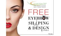 Free 3D Eyebrow Shaping and Design (UP:S$32.10) (Available at 5 outlets)