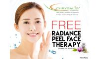 Free Radiance Peel Face Therapy (30mins | UP: S$160.50 (Available at 5 outlets)