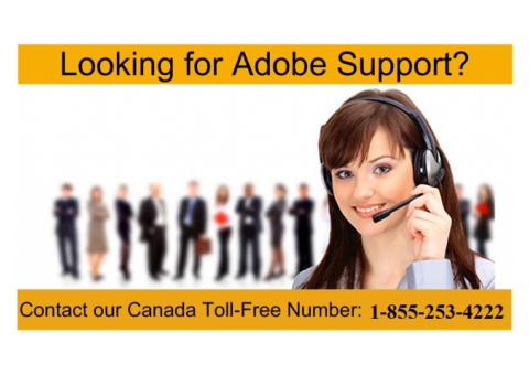 Adobe Tech Support Number For Canada 18552534222