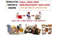 Disposal Service In Singapore Call 6652 2595