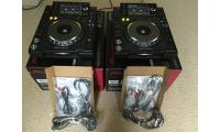 Brand new 2 x pioneer cdj 2000 nexus + 1 djm mixer 900 whatasp me  +971522975565