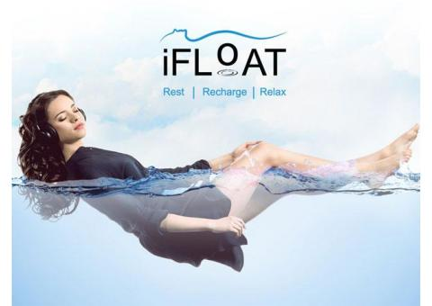 Get a POWER NAP on World's 1st Dry Floatation Bed