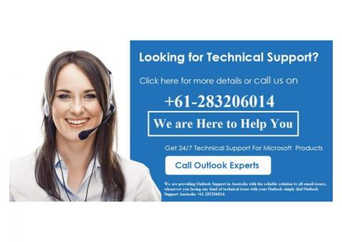 Outlook Technical Support Number Australia +61-283206014