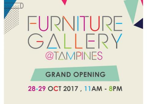 Furniture Gallery @ Tampines - Grand Opening