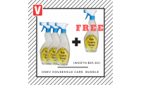 One V Household Care Bundle (Buy 3 Get 1 FREE)- worth $63.60