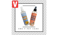 One V Pet Care Bundle (Fleas&Ticks Repelling Conditioner + Potty Trainer) - $36.80(UP$49.80)