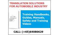 Translation Solutions For Automobile Industry