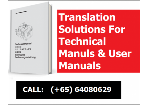 Translation Solutions For Technical Manuls & User Manuals