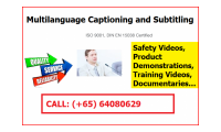 Multilanguage Captioning and Subtitling Services