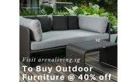 Outdoor Furniture Sale in Singapore - Up to 40% Off