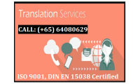 ISO 9001, DIN EN 15038 Certified Company in Singapore
