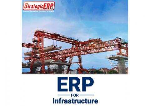 Best Infrastructure ERP Software Provider in India