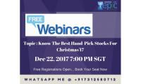 Know The Best Hand-Pick Stocks For Christmas'17