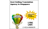 Best Selling Translation Agency in Singapore