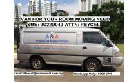 Moving van with driver  starts $ 40 SMS: 90229049 ATTN: REYCEL