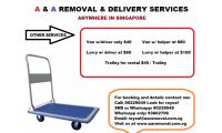 TROLLEYS FOR RENT call 90229049 look for Reycel