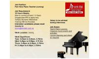 Part Time Violin & Piano Teachers Needed Urgently at Doreimi Jurong