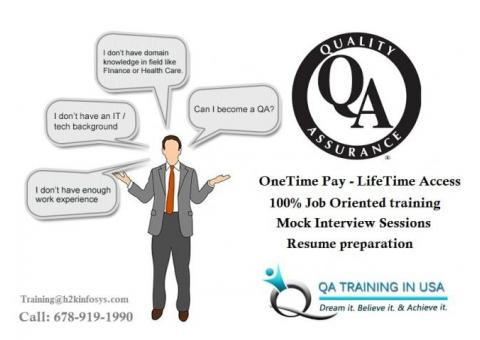 Quality Assurance Online Training from QA Training in USA