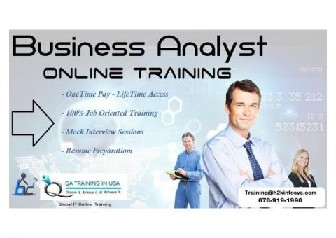 Business Analyst training by QA Training in USA