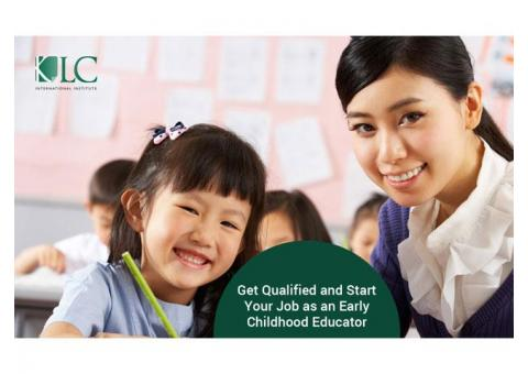 Get Qualified and Start Your Job as an Early Childhood Educator
