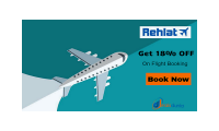 RehlatOffers- Save Up to 18% on Flight Booking