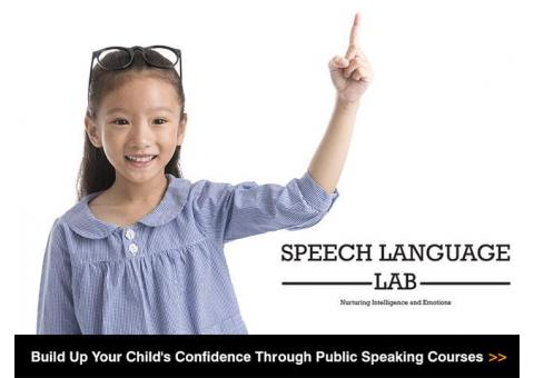 Speech Training for Children