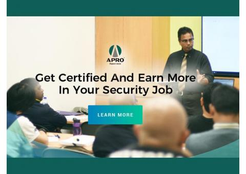 Get 90-95% Course Fee Subsidies For WSQ Security Courses