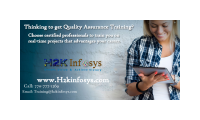 Quality Assurance Online Training Courses with Job Support