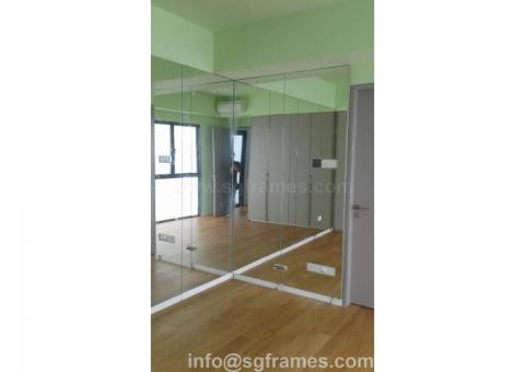 Full-size Wall Mirror - Custom Size - Delivery & Installation