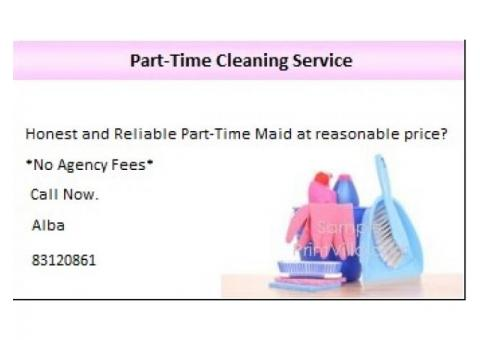 Part-Time Maid Service (No Agency Fees)
