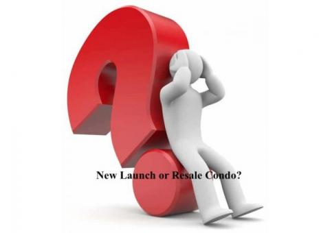 New launch vs resale condo – Things to consider before buying