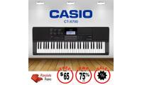 PROMOTION! GREAT VALUE! Casio High-Grade Keyboard CT-X700