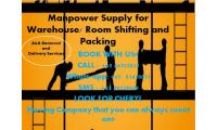 Manpower for shifting goods in warehouse packing and unpacking whatsapp 81410051