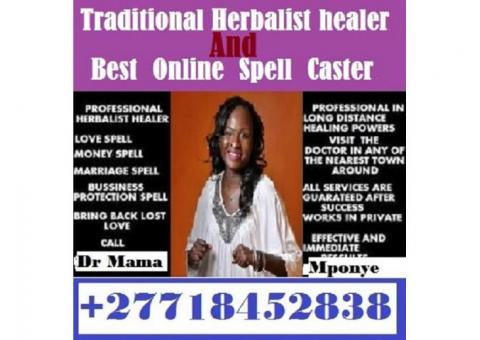 Herbalist Healer With Life-Money and Love problems Solutions +27718452838 Mama Mponye