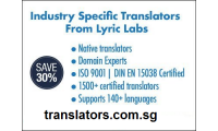 Save 30% on Industry Specific translation