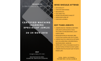 Certified Machine Learning Specialist (CMLS)
