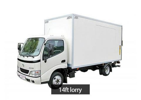 lorry with 2 man fr $100 contact 92455222