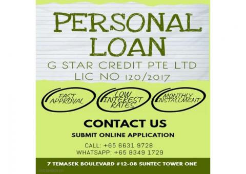 Personal & Business Loan Licensed Money Lender Singapore