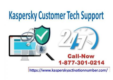 Remove Entire Bugs Of Kaspersky Customer Service | Dial +1 877 301 0214