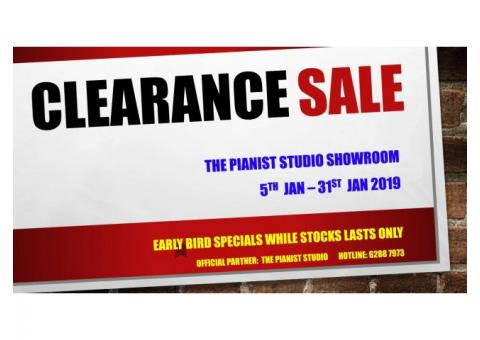 CLEARANCE SALE @ THE PIANIST STUDIO - Digital Piano, Keyboard, Drums, Guitars
