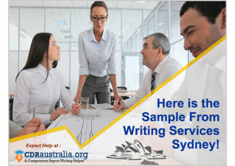 Here is the Sample from Writing Services Sydney!