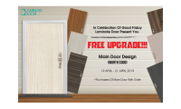 Good Friday 2019 Promotional Sale on Going For Main Door Design