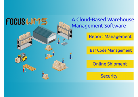 #1 Warehouse Management Software WMS in Singapore by Focus