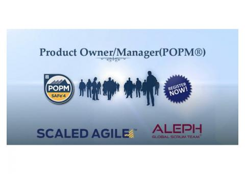 Certification And Exam – (POPM) | To Get certified Trainer | Aleph Technologies