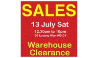 WAREHOUSE SALES IN LOYANG