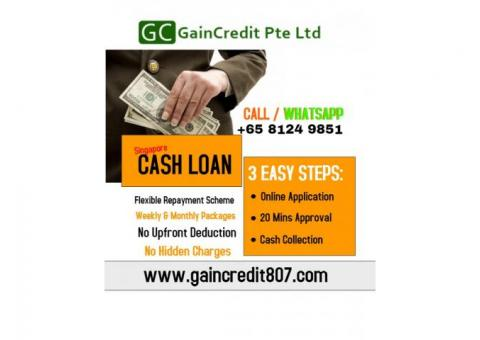 NEED CASH FOR ROLLING ????